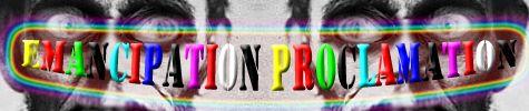 Emanciation Proclamation logo