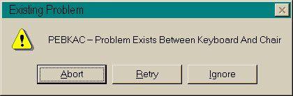 Existing Problem logo