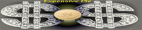 Expensive Pie logo