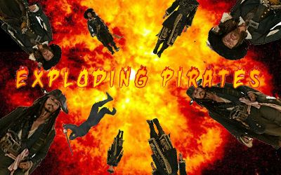 Exploding Pirates logo