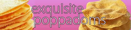 Exquisite Poppadoms logo