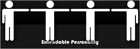Extendable Personality logo