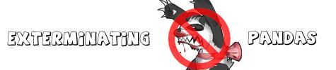 Exterminating Pandas logo