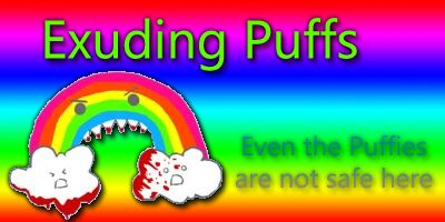 Exuding Puffs logo